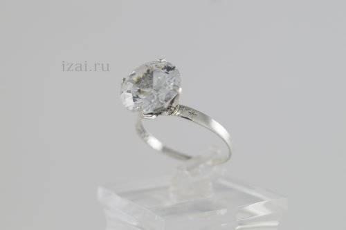 Кольцо с камнем из Серебра, золота, латуни. ОПТ и Розница (1)