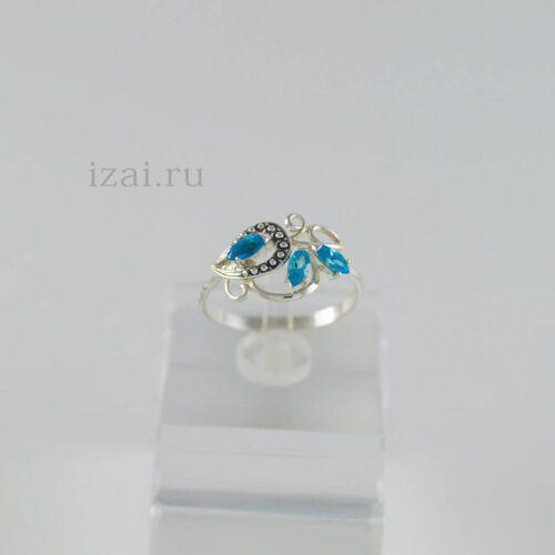 Кольцо с камнем из серебра золота латуни. Оптом и Розницу (2)