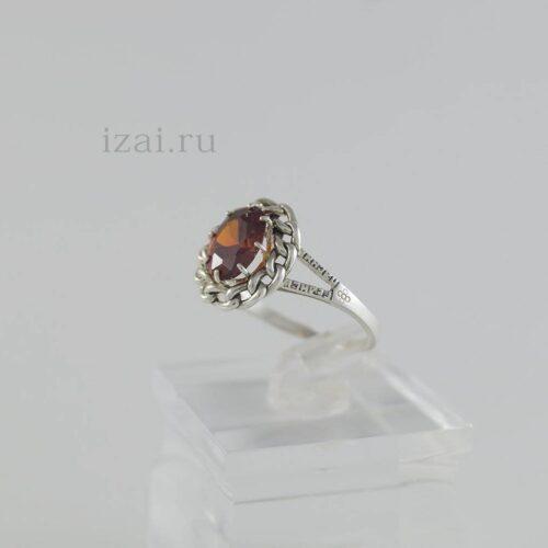 Кольцо с камнем из серебра золота латуни. Оптом и в Розницу. (1)