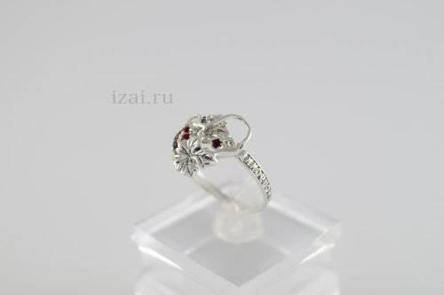 Кольцо с камнями из серебра золота латуни. ОПТ и Розница (2)