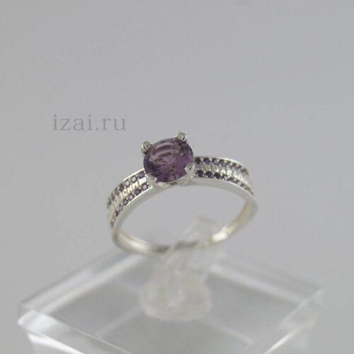 Кольцо с камнями из серебра золота латуни. Опт и Розница (1)