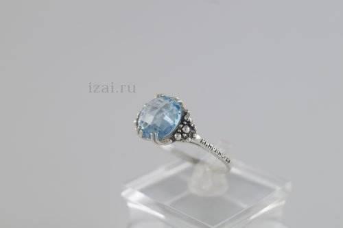 Кольца с камнем из серебра золота. Купить оптом и в розницу... izai (1)