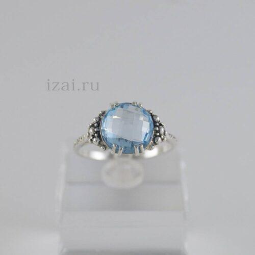 Кольца с камнем из серебра золота. Купить оптом и в розницу... izai (5)