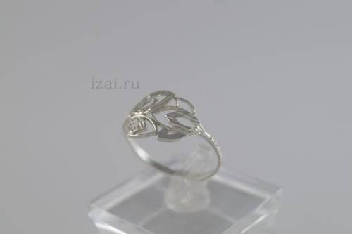 Кольцо из серебра и золота купить оптом и в розницу (1)