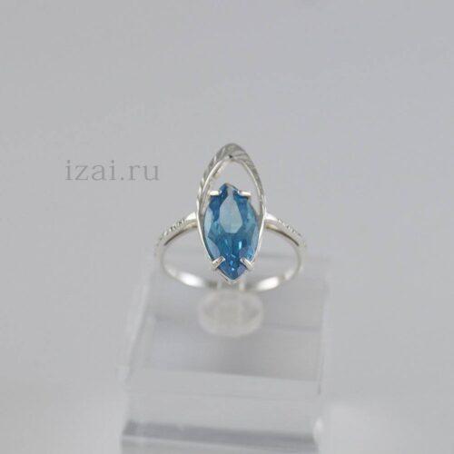 Кольцо с камнем для опта и розницы из золота и серебра купить (5)