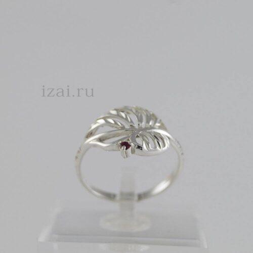 Кольцо с камнем из золота и серебра купить оптом и в розницу (1)