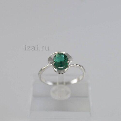 Кольцо с камнем из золота и серебра. оптом и в розницу (1)