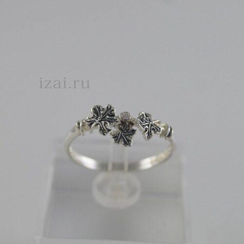 Кольцо с камнем из золота и сереьра купить оптом и в розницу от производителя (2)