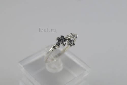 Кольцо с камнем из золота и сереьра купить оптом и в розницу от производителя (3)