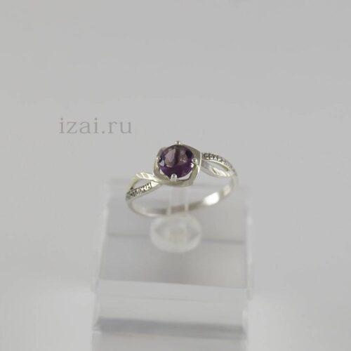 Кольцо с камнем из серебра и золота. Оптом и в розницу купить (2)