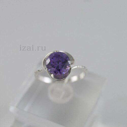 Кольцо с камнем из серебра и золота. Оптом и в розницу.. (1)