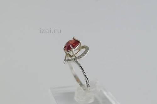 Кольцо с камнем купить оптом из серебра и золота (1)