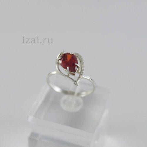 Кольцо с камнем купить оптом из серебра и золота (2)