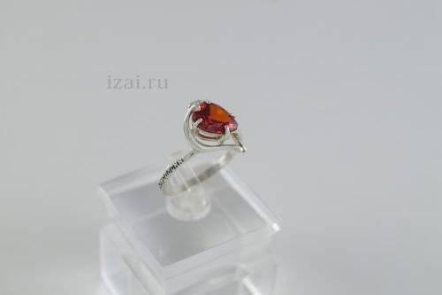 Кольцо с камнем купить оптом из серебра и золота (3)