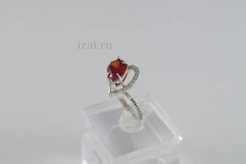 Кольцо с камнем купить оптом из серебра и золота (4)