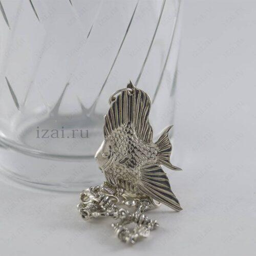 Ионизаторы воды. Рыбка. Серебро 925. izai (1)