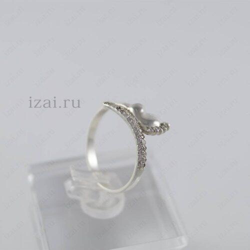 Кольцо ножка младенца из серебра или золота. izai (2)
