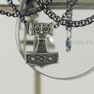 Молот тора. Кельтский оберег. из серебра или золота. izai (1)