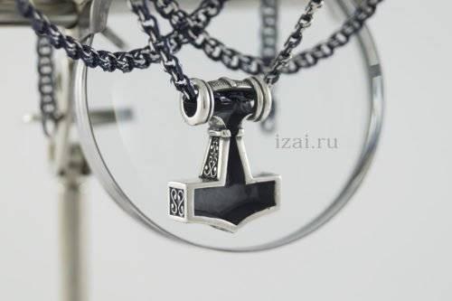 Молот тора. Кельтский оберег. из серебра или золота. izai (2)
