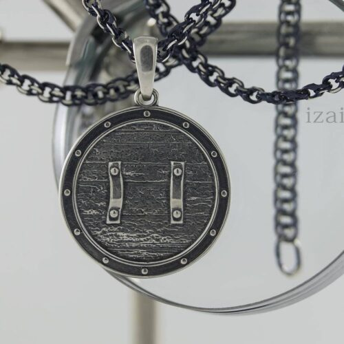 Славянский оберег из серебра или золота Громовик. izai (2)
