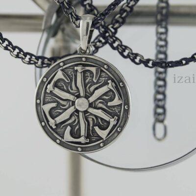 Славянский оберег из серебра или золота Громовик. izai (3)