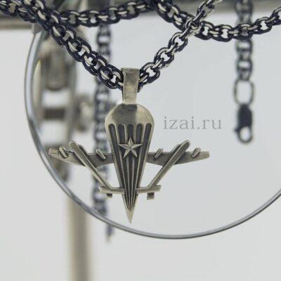 кулон ВДВ из серебра или золота. izai (2)