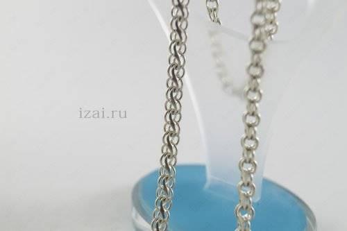 Цепочка Гарибальди из серебра или золота. izai (5)