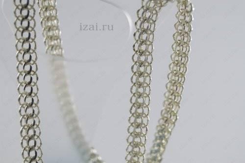 Цепочка Питон из серебра или золота. izai (3)