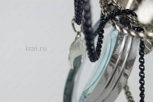 Славянский Оберег Лунница двух рогая №5578