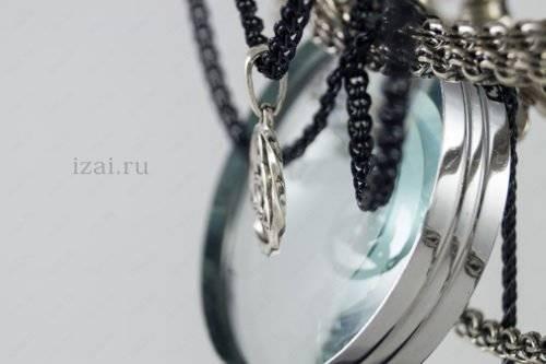 Славянский Оберег Триглав №8970 из серебра золота
