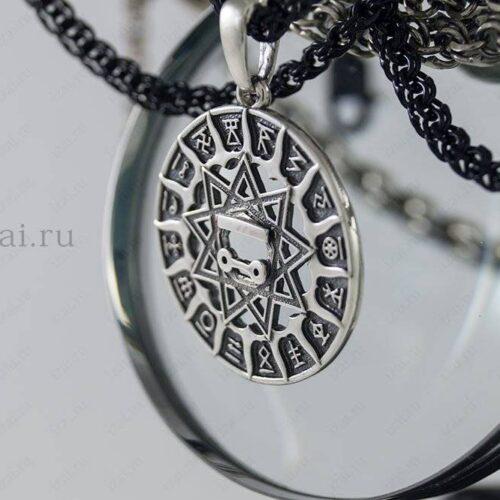 Чертог Щуки №9141 из серебра золота