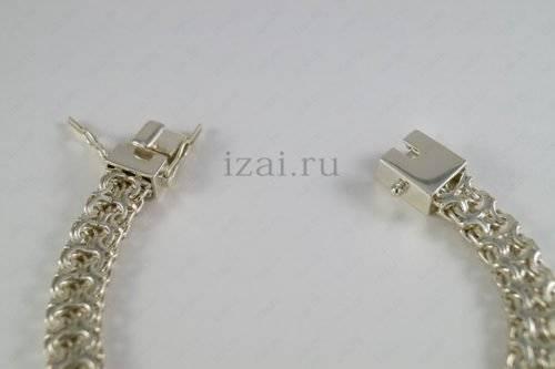 Плетение Рамзес браслет или цепь серебро или золото. Фото