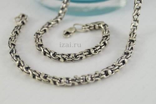 Плетение Кавай или Кельтская. Серебро Золото. фото