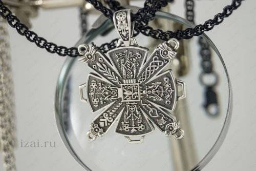 Славянский Оберег Крес Огненная Кольчуга №0003