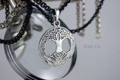 Купить оберег Древо жизни серебро золото латунь бронза.