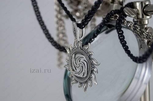 Купить славянский оберег Вайга серебро золото латунь бронза.