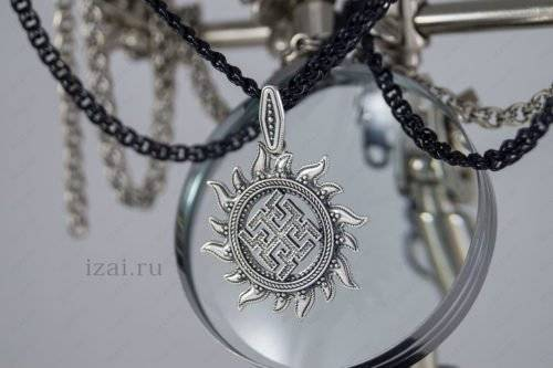 Купить славянский оберег Духобор серебро золото латунь бронза.