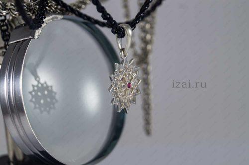 Звезда Эрцгаммы с камнем №58