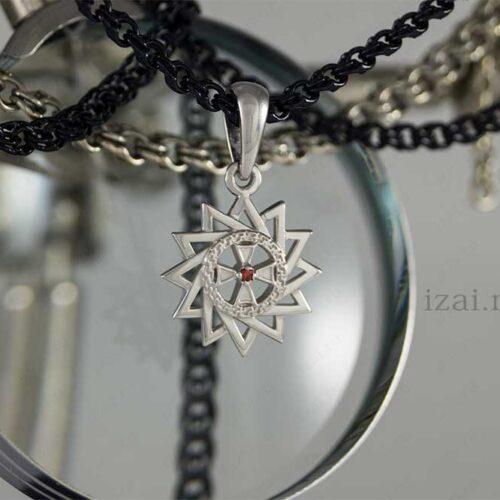 Звезда Эрцгаммы с камнем. №7678