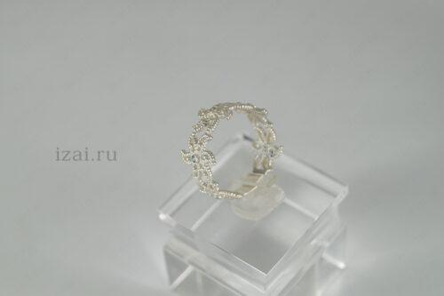 Кольцо с камнем №1259